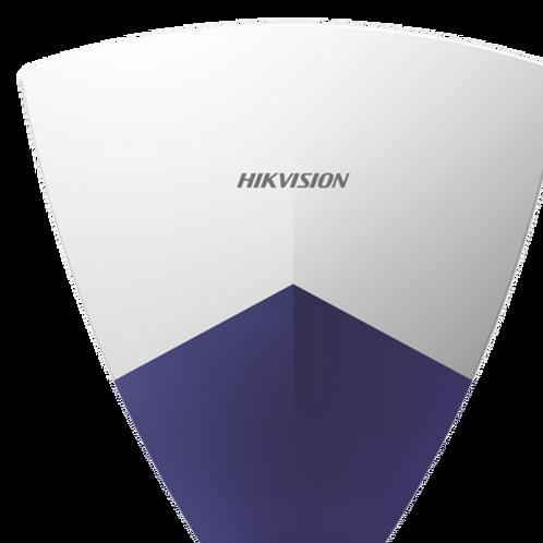 Sirena Inalámbrica con Estrobo para Exterior/Compatible con Panel de Alarma HIK