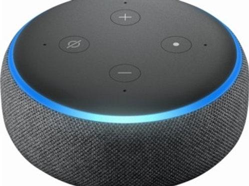 Echo Dot (3ra generación) - Bocina inteligente con Alexa.