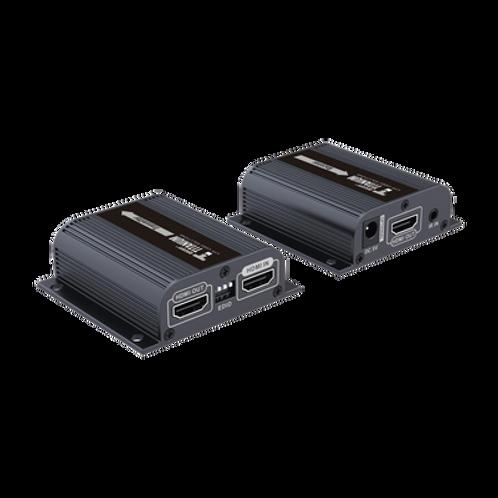 Kit extensor HDMI con loop de salida, para distancia de 50 metros con cable Cat6