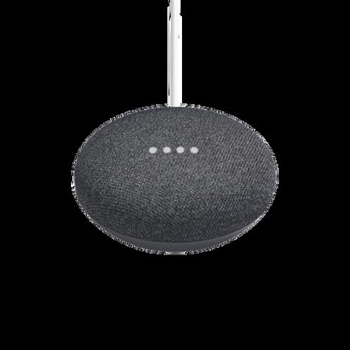 Google Home Mini Asistente de Voz, Inalámbrico, WiFi, Bluetooth, Negro