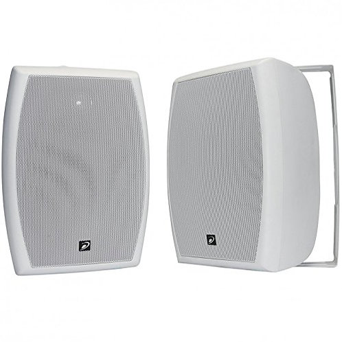"Dayton Audio IO655WT Bocina para Exterior, 70Volts, 6.5"", color Blanco"