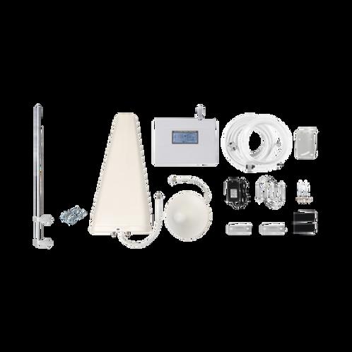 Kit de Amplificador de Señal Celular 4G LTE con Mástil Liviano de Pared