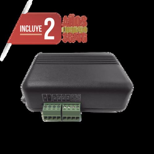 Controlador 4G LTE / 4 ENTRADAS Y 2 SALIDAS / 2 AÑOS ILIMITADOS INCLUIDOS
