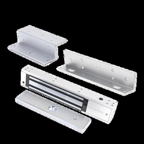 Kit de Chapa magnética 600 Lbs/ Temporizador / LED indicador / Incluye Montajes