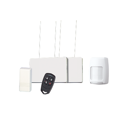 Kit de Receptor y Sensores inalámbricos magnético y de Movimiento