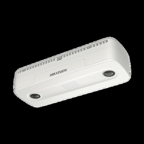 Cámara IP Dual 2 Megapixel/Lente 2 mm/Conteo de Personas/PoE/Uso en Interior