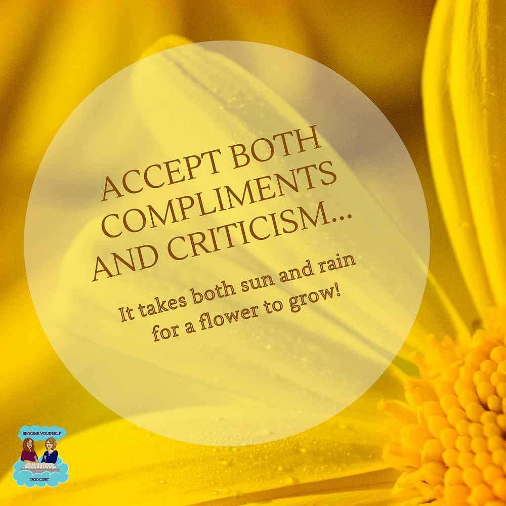 Quote about accepting criticism