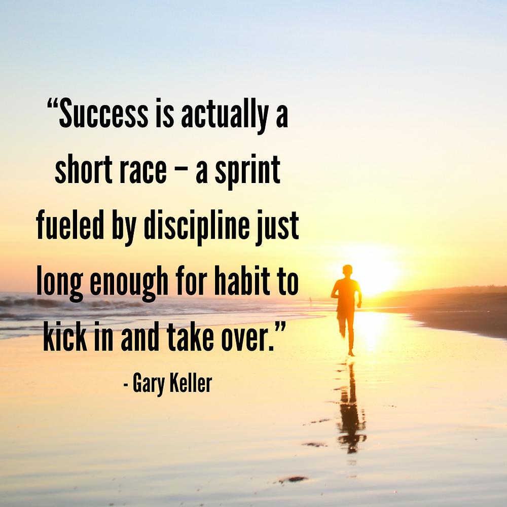 Success Self Discipline quote