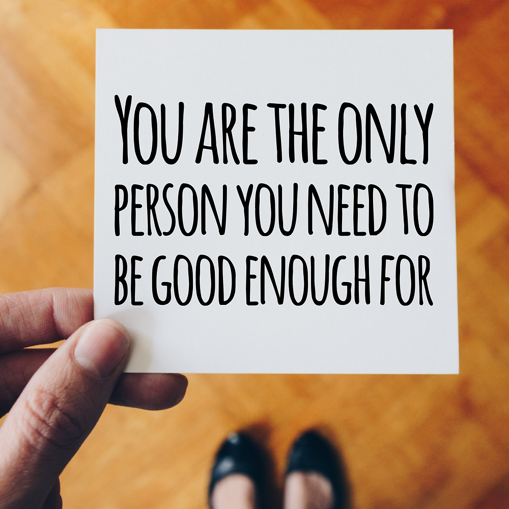 quote about being good enough