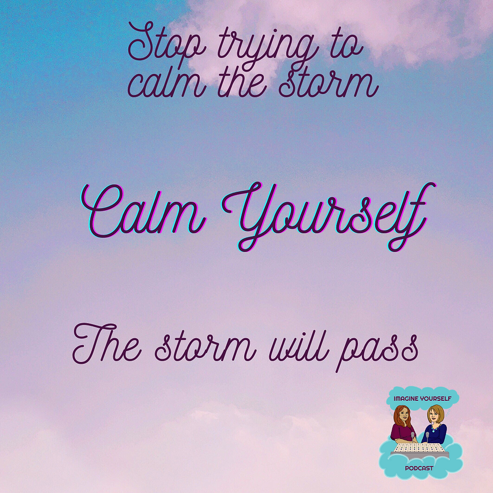 quote about staying calm