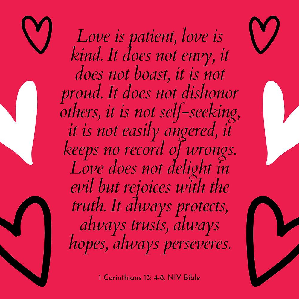 Bible Love Passage
