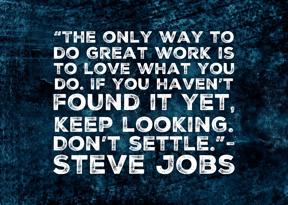quote about loving your job