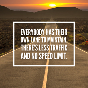 Quote About Staying in Your Lane