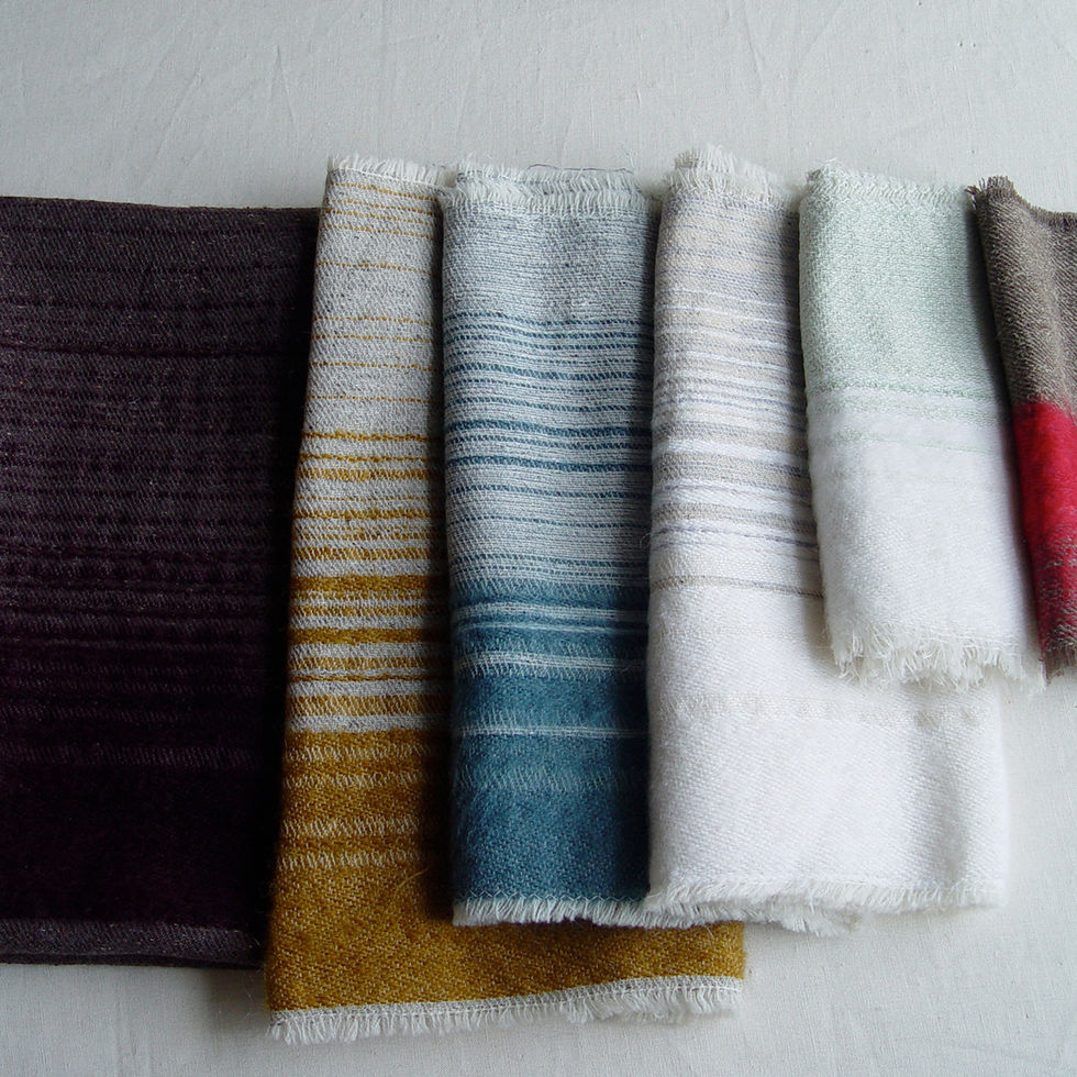 Silk Mohair Band Swatches