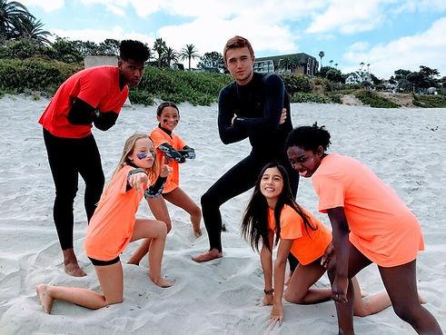 Aqua Adventures Surf Camp counsellors an