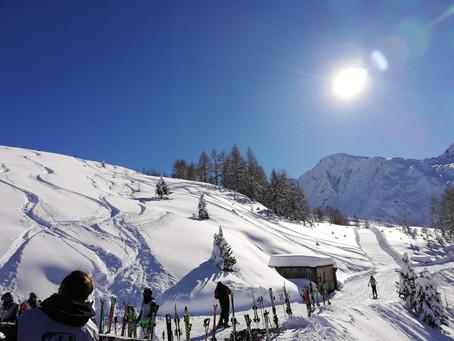 Sonne und Schnee - Kaiser Wetter!
