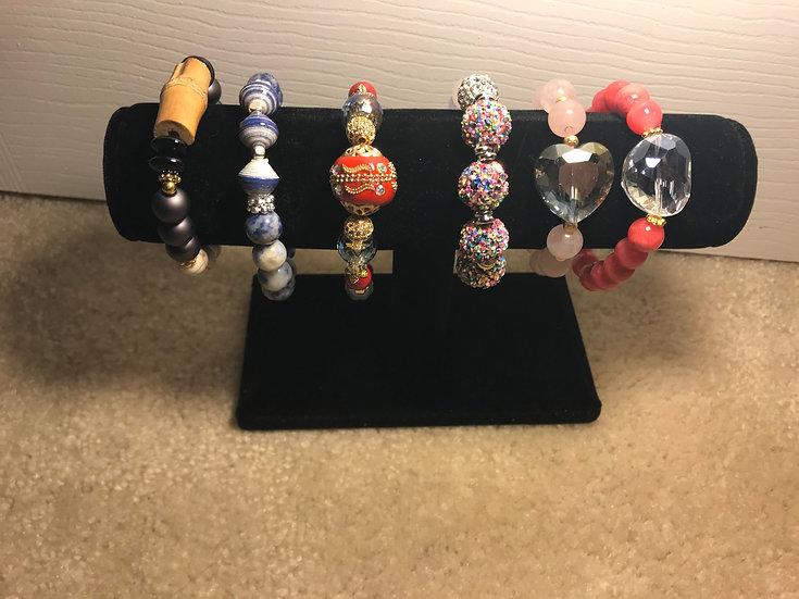 Black Velvet Bracelet Bar