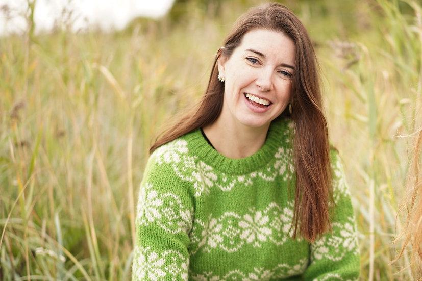 Sirri, uld sweater dame