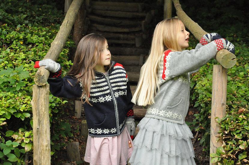 Norlender, Fanafjellet uldsweater m. hætte