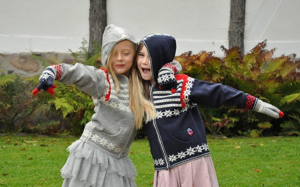 Norlender, Fanafjellet sweater med hætte, børn