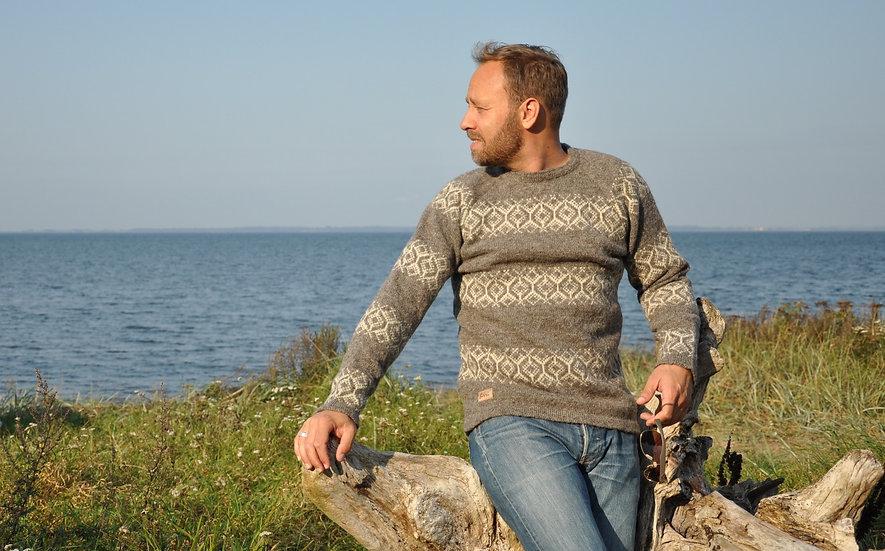 Sirri, uld sweater, herre