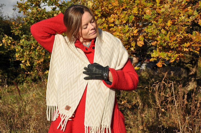 Vingtor, tørklæde, uld