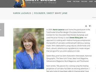 Karin Lazarus Mary Janes Women of Weed
