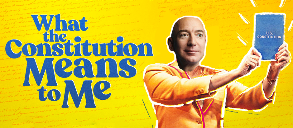 "Amazon Picks Up ""What the Constitution Means To Me"", Edits Out That Pesky ""Abuse of Power""  Business"
