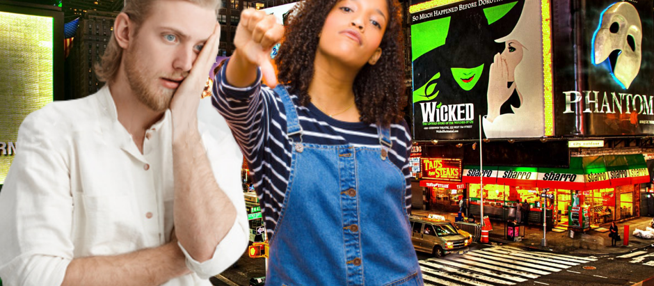 Ugh, Lame! Broadway Employees Have to Go Back to Friggin' Work :/