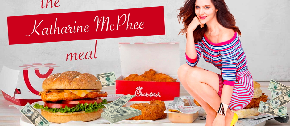 Chick-fil-A Introduces Katharine McPhee Meal; Includes Donation to Republican Senators, No Food