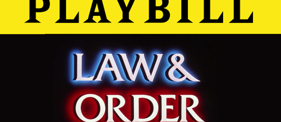 Play's Cast Credits Just List Of Law & Order Episodes