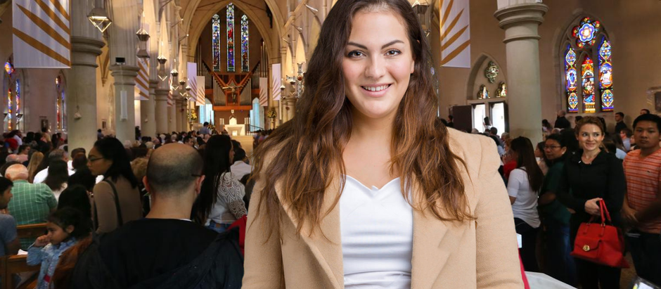 Theatre Fan Attends Packed, Maskless Easter Service Just to Feel Something