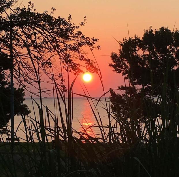 sunrise chesapeake