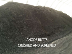 anode butts recycling aluminium