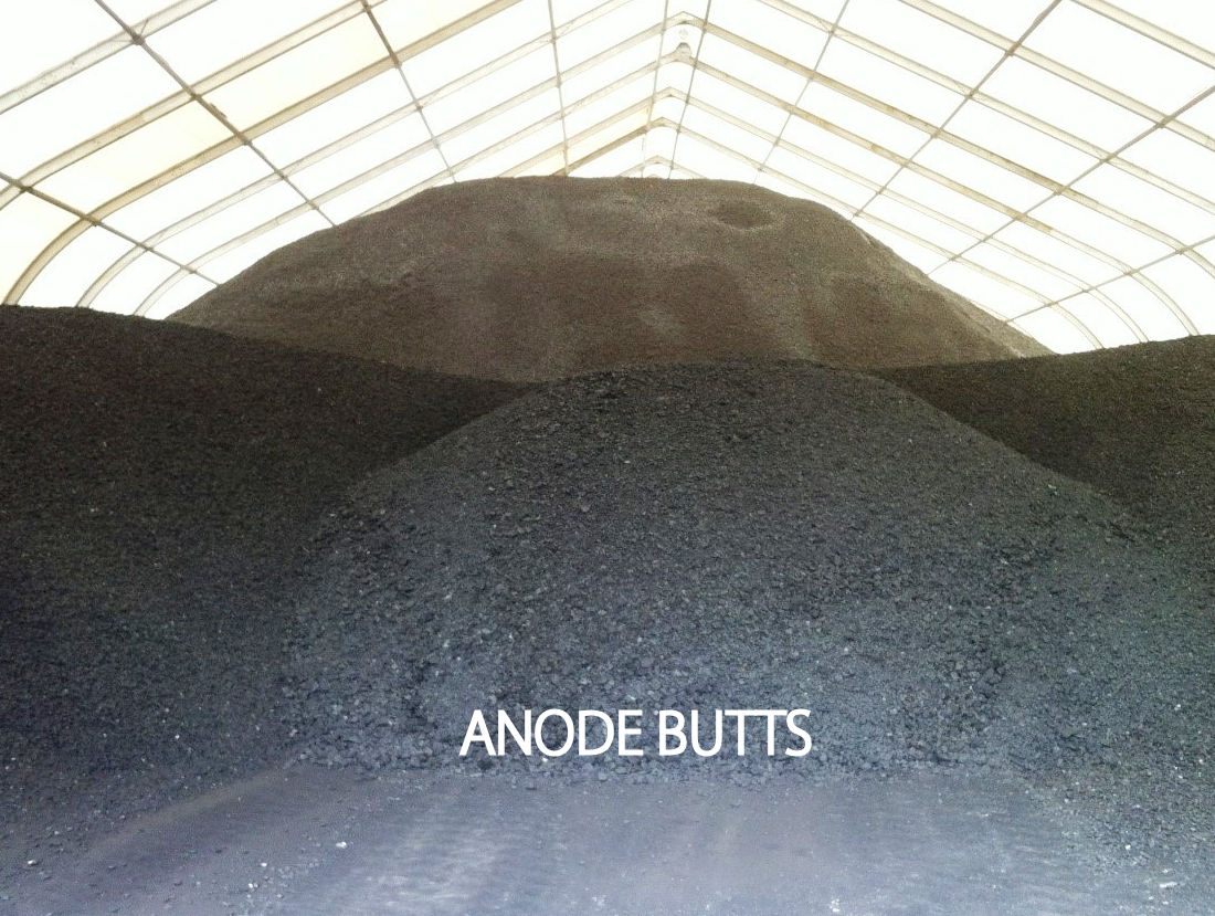 anode butts recycling