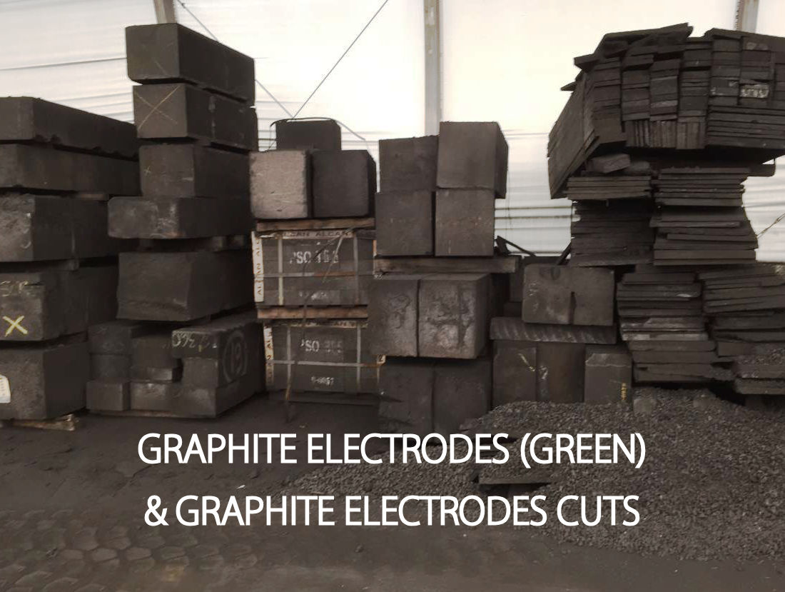 graphite electrodes green cuts