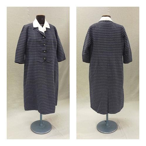 Vintage 50-l. villasekoite mekko, koko L-XL