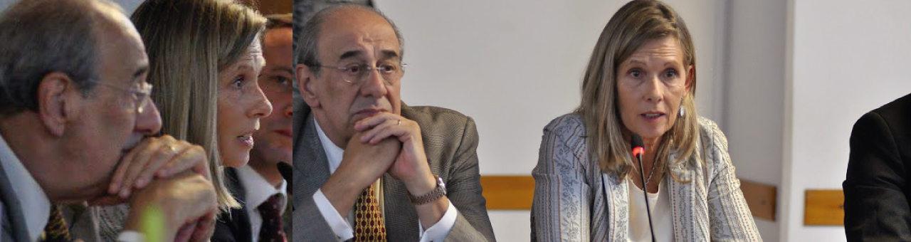 Mercedes Moreno Klappenbach hablando por Venezuela en el Anexo de Diputados.