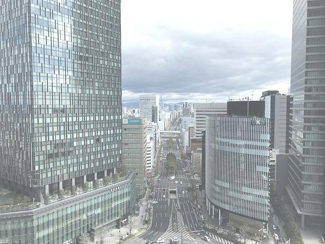 株式会社NEXT GROUPの事務所からの景色 名古屋事業所