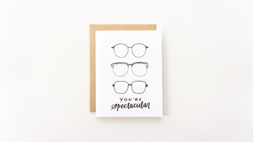 You're Spectacular