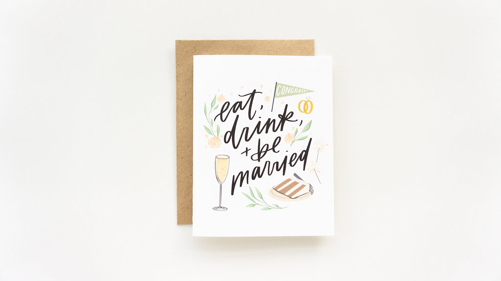 Eat, Drink, & Be Married