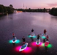 SUP Light Night Hamburg