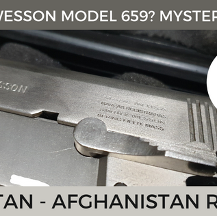 Pak-Afghan Finds: A Smith & Wesson Model 659 or Something Else?