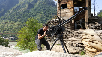 DShK On The Blood-Line / Line-Of-Control   Sharda, Pakistan-Administered-Kashmir