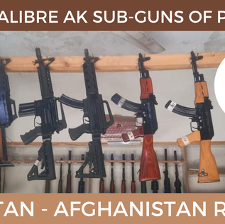 The Pistol Caliber AK Submachine Guns of Darra Adam Khel
