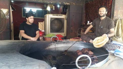 Eating In Land-Kotal, FATA, Pakistan