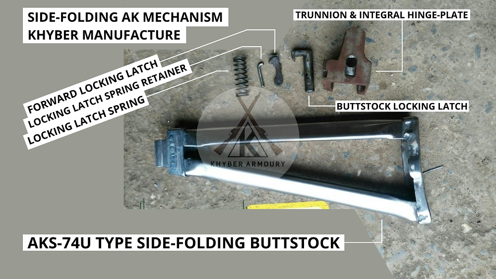 Fig.2.4. AK upgrade/modification package for Skeleton side-folder (Source: Khyber Armoury)