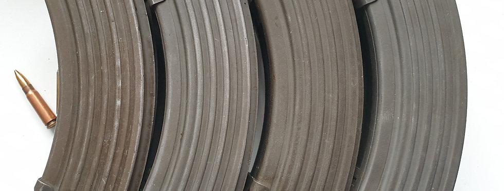 Magazines   x1 Polish Ribbed Steel 7.62×39 - 30 Rounder