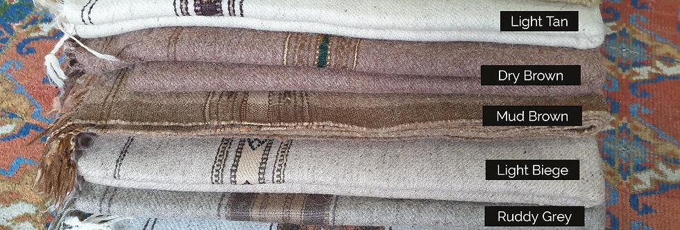 Clothing | 100% Wool Hand-Made Swati Shawl (Chadar) | STANDARD
