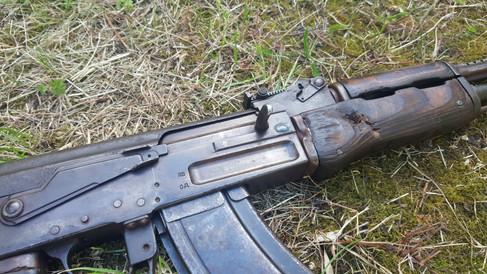 Bullet-Strike On Russian Type 2 AKS | UK